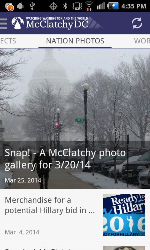 McClatchyDC Nation&World News- screenshot
