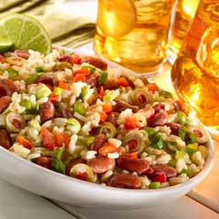Creamy Rice & Bean Salad.