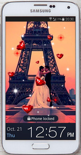 Paris Romantic live wallpaper