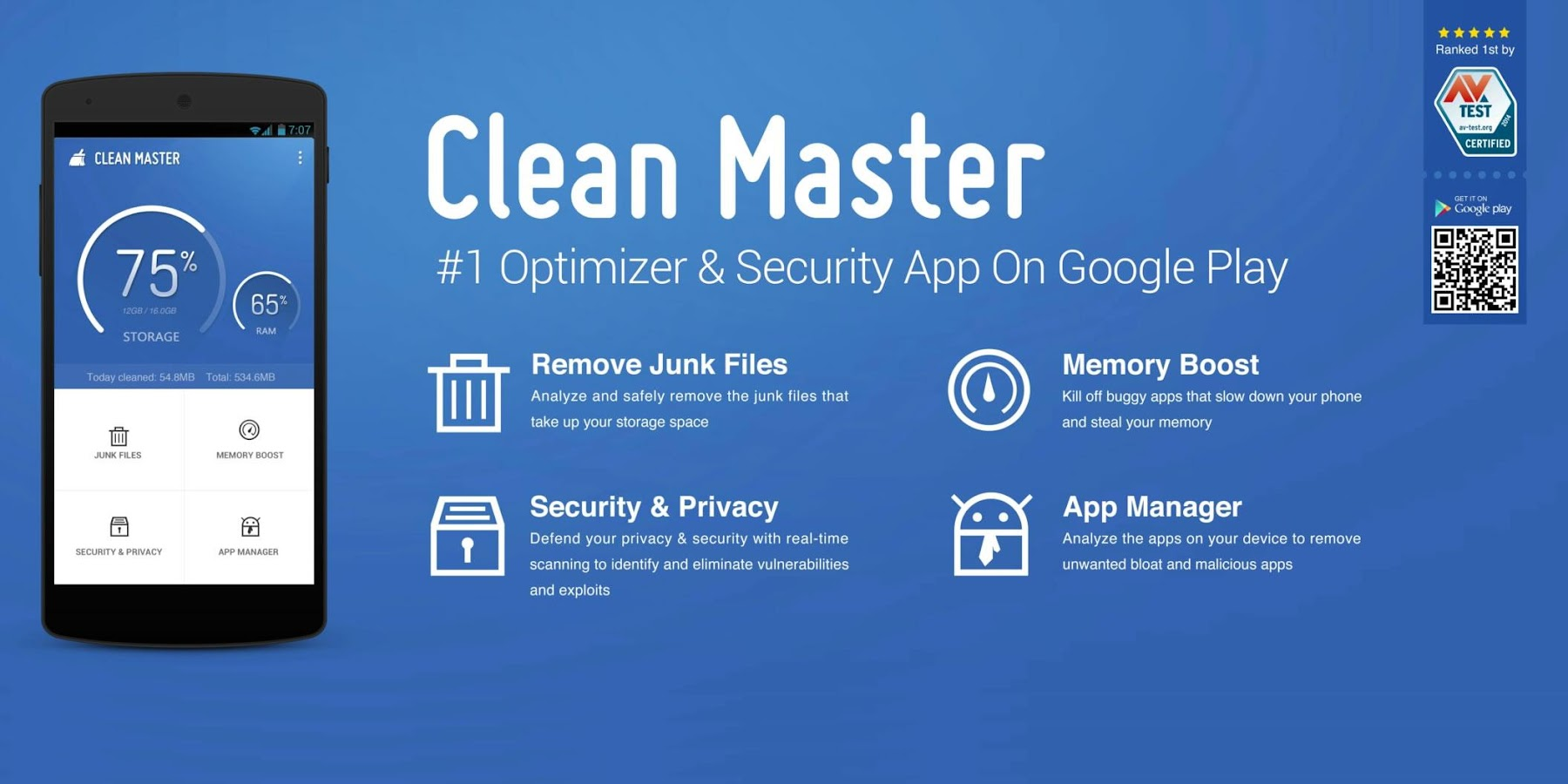 Clean Master (Cleaner) - FREE - screenshot