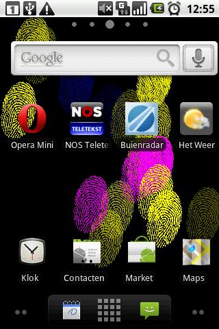 Fingerprint Live Wallpaper - screenshot