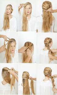女生髮型步驟
