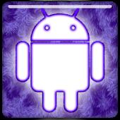 GO Keyboard  - Purple Fur