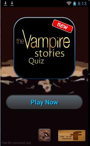 Vampire Stories Quiz for Fun