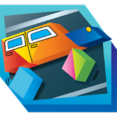 Kids Tangram Puzzle: Transport