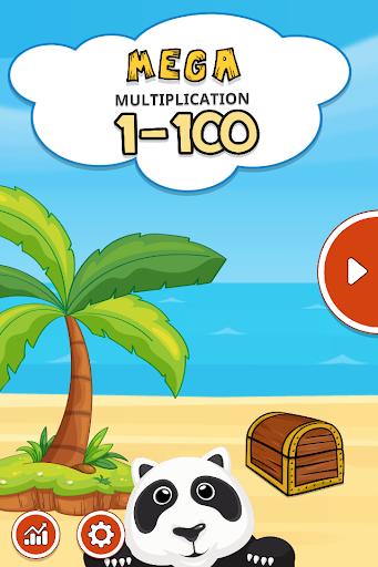 MEGA 乘法 1-100