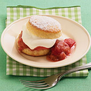 Strawberry-Rhubarb Shortcakes