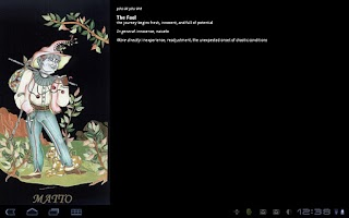 Screenshot of Tarot of the New Moon