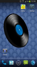 Vinyl Record 3D Live Wallpaper Android Personalization