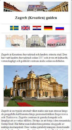 Zagreb Kroatien guide