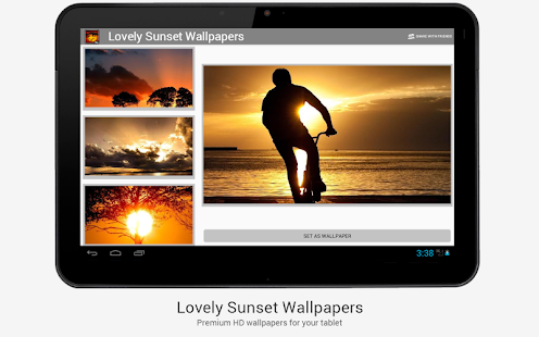 Lovely Sunset HD Wallpapers - screenshot thumbnail