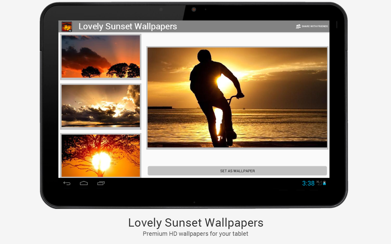 Lovely Sunset HD Wallpapers - screenshot