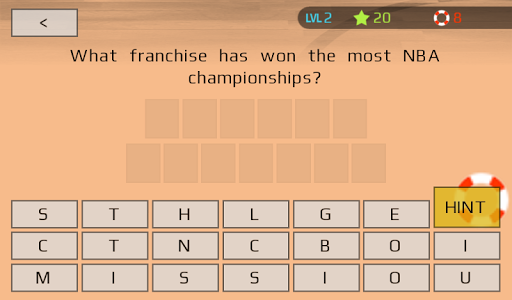 Sports Trivia: Questions Game