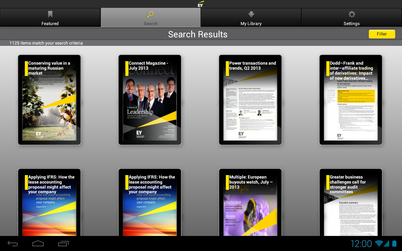 EY Insights - screenshot