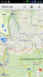 Mapy.cz - screenshot thumbnail