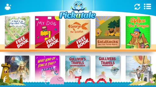 练习阅读并认知世界!Pickatale拥有逾100个交互故事