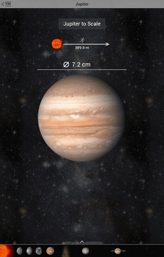 au scale solar system - photo #39