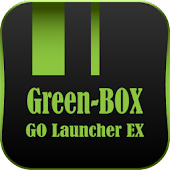 Green-BOX GO Launcher EX Theme