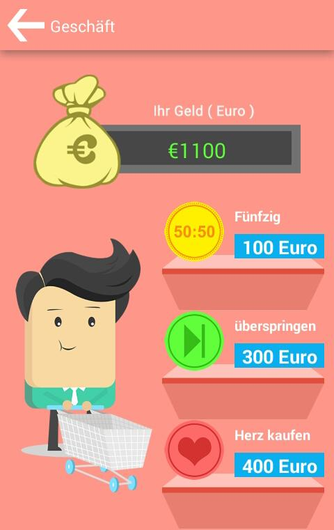 Meinkauf Learn German Language- screenshot