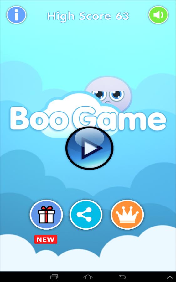 Boo Game- screenshot
