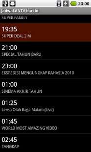 Jadwal TV- screenshot thumbnail