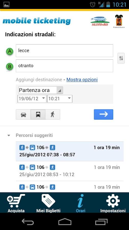 Salento in Bus- screenshot