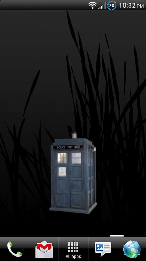 Animated TARDIS Widget- screenshot