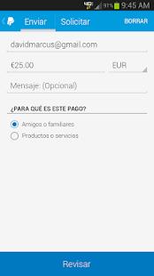 PayPal - screenshot thumbnail