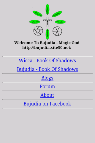 Bujudia/Wicca Book Of Shadows - screenshot