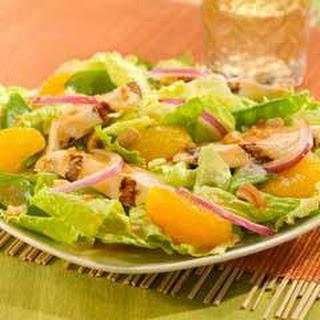 Mandarin Orange & Chicken Asian Salad.