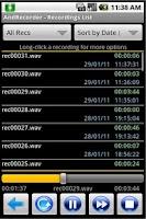 Screenshot of AndRecorder - Premium