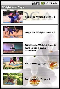 Weight Loss Yoga - screenshot thumbnail