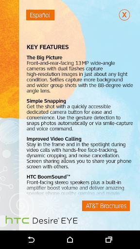 devicealive HTC Desire Eye