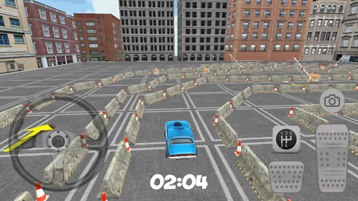 3D City Pink Car Parking