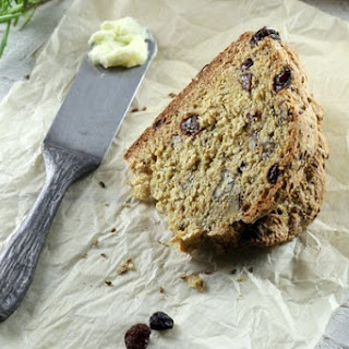 Rosemary Rum Raisin Soda Bread with Pecans