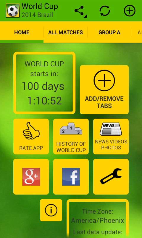 World Cup 2014 Brazil - screenshot