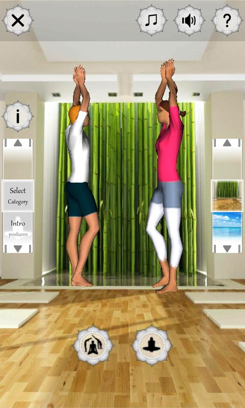 Yoga Fitness 3D - screenshot