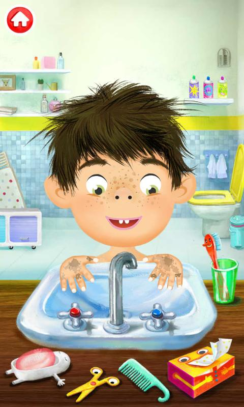 Pepi Bath - screenshot