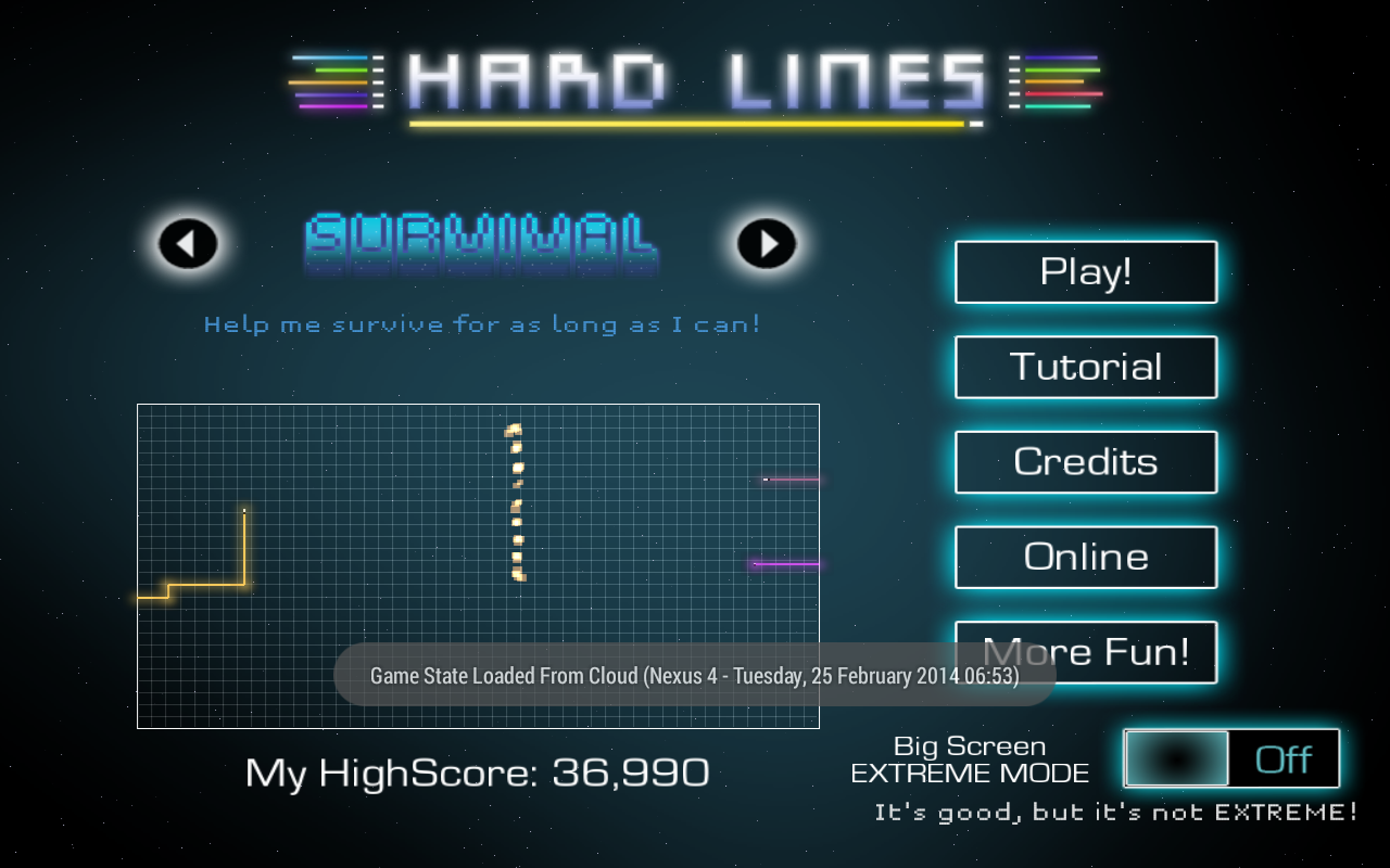 Hard Lines- screenshot