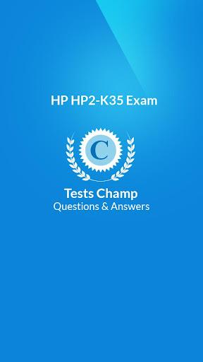 HP2-K35 Exam Quick Assessment