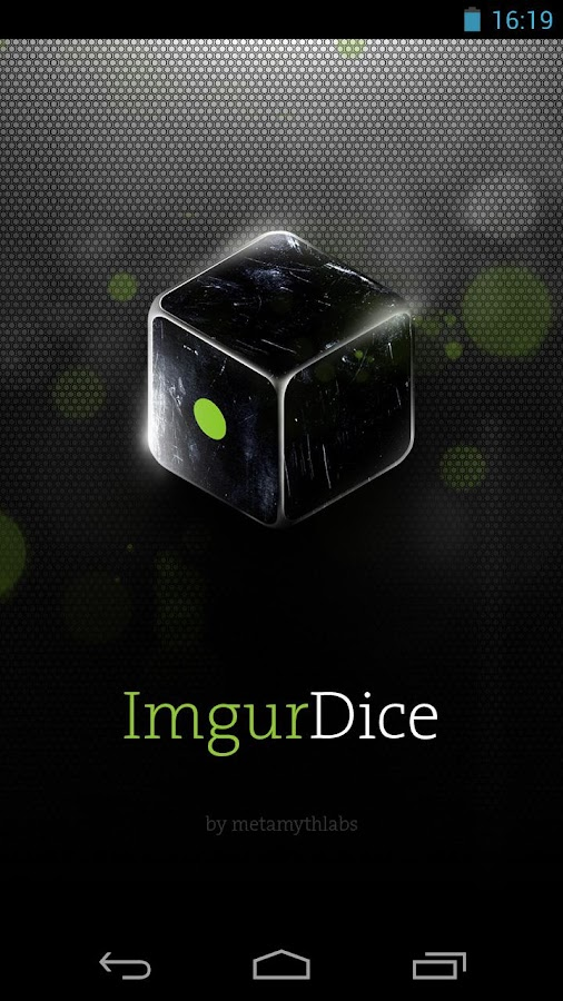 ImgurDice - screenshot
