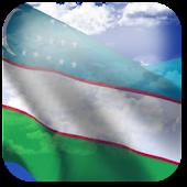 3D Uzbekistan Flag LWP +