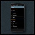 Black MTRL BlueGrey CM12 Theme APK Cracked Download