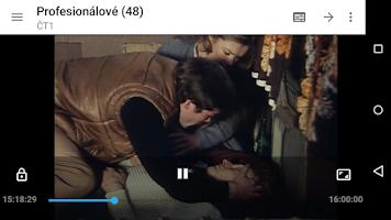 Screenshot of SledovaniTV
