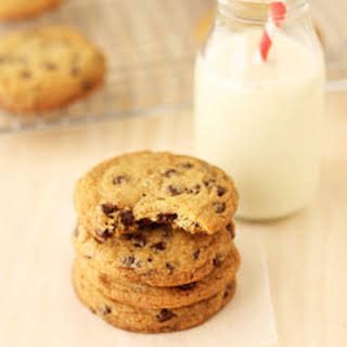 Chewy Vegan Chocolate Chip Cookies.