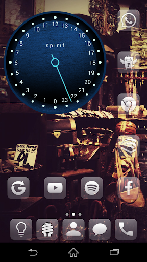 SoloSweep Clock Widget