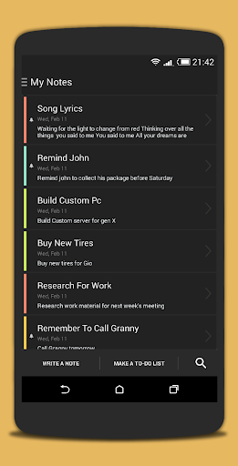 Quick Note - Notes To-Do Lists