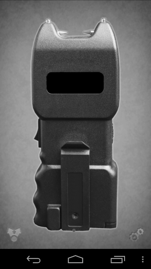 Taser stun gun - screenshot