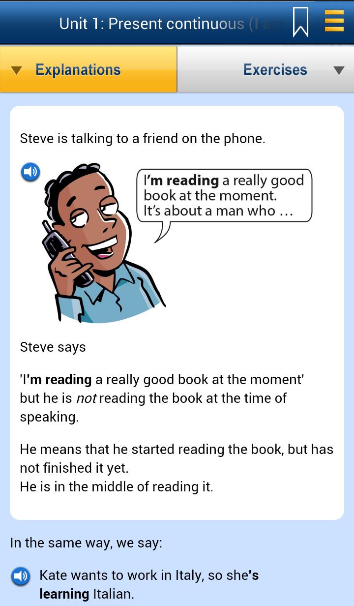 English Grammar in Use Screenshot 1