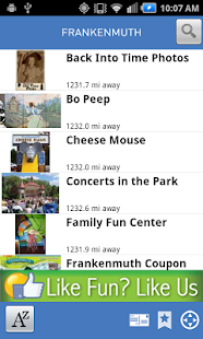 Explore Frankenmuth - screenshot thumbnail